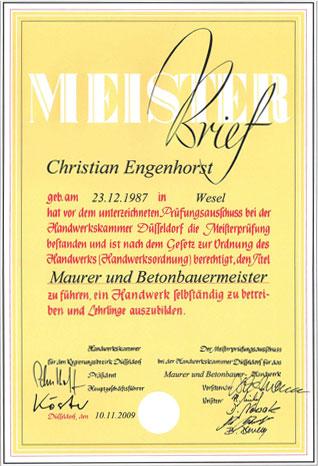 Meisterbrief-C-Engenhorst